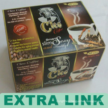 China Supplier New Premium Foldable Paper Coffee Capsules Box